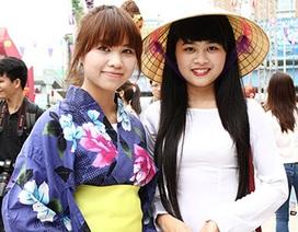 Giới trẻ Hà thành háo hức khám phá văn hóa Nhật
