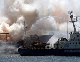 Cảnh sát biển Việt - Hàn giữa trập trùng khói lửa