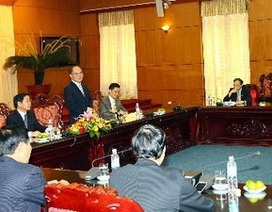 Chủ tịch QH gặp Đại sứ, Trưởng cơ quan đại diện