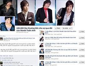 "Bức xúc trang facebook ""câu like"" để Wanbi…hồi sinh"