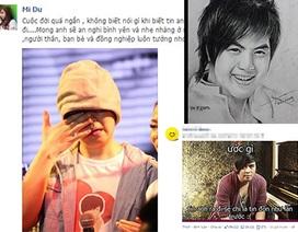 Cộng đồng mạng thương tiếc ca sĩ Wanbi Tuấn Anh