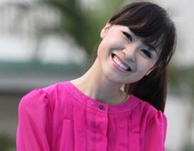 Nữ sinh Hà thành 1m72 rạng ngời trong sắc hồng