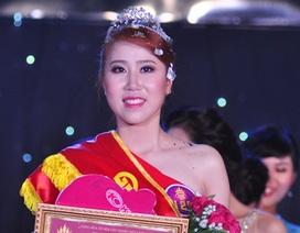 Nữ sinh trường Báo đăng quang Hoa khôi SV Hà Nội