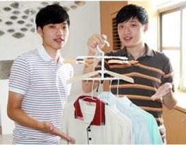 """Cặp sinh đôi phát minh cách làm khô quần áo """"siêu tốc"""""""