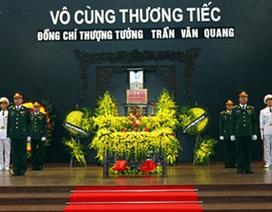 Tổ chức trọng thể lễ tang Thượng tướng Trần Văn Quang
