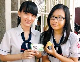 Gặp nhóm học sinh sáng chế xà phòng từ… dầu ăn bỏ đi