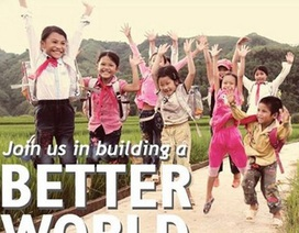 Nụ cười trẻ em Việt rạng ngời trên Facebook của Bill Gates