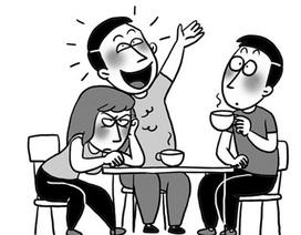 """Khi bạn trai mắc bệnh """"nói đi nói lại"""""""
