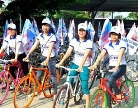 Đà Nẵng: 300 thanh niên đạp xe kêu gọi tiết kiệm điện