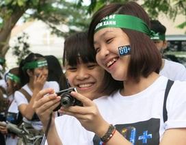Đà Nẵng:  Bạn trẻ hành động để Trái đất thêm xanh