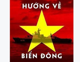 """Giới trẻ """"dậy sóng"""" đổi avatar hình cờ Tổ quốc, hướng về biển Đông"""