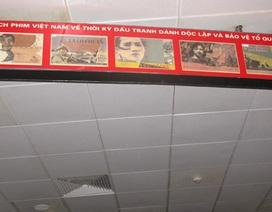 Lỗi chính tả xuất hiện tràn lan tại Trung tâm chiếu phim Quốc gia
