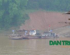 Chưa được cấp phép, bến phà Lâm Giang vẫn ngang nhiên hoạt động