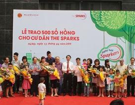 Tập đoàn Nam Cường trao 500 sổ hồng cho cư dân The Sparks