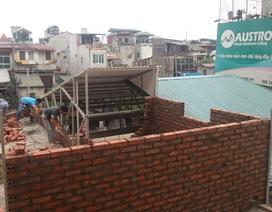 Đất đang tranh chấp, quận Thanh Xuân vẫn cấp giấy phép xây dựng