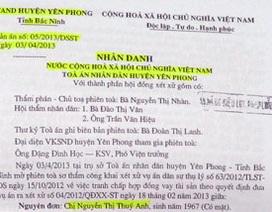 """Bắc Ninh: Nguy cơ """"tan cửa nát nhà"""" vì quyết định khó hiểu của cơ quan thi hành án"""