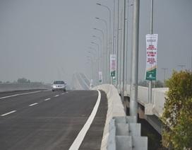 Thông xe 20km đầu tiên cao tốc TPHCM - Long Thành - Dầu Giây