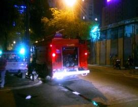 Cháy ngôi nhà 3 tầng giữa trung tâm thành phố