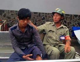 Nổ 5 phát súng truy đuổi 2 tên cướp giữa Sài Gòn