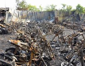 Vụ cháy 300 xe gắn máy: Sẽ khởi tố vụ án