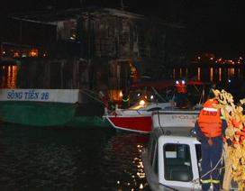 Cháy tàu chở dầu trên sông Đồng Nai, ít nhất 2 người chết