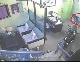 Trộm đột nhập nhà tiến sĩ tâm lý bị camera ghi hình