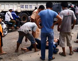 Xe CSGT bất ngờ lao ra đường, đâm bị thương 3 người