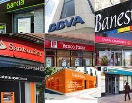 EU cấp 30 tỷ Euro giải cứu các ngân hàng Tây Ban Nha