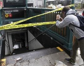 Bão Sandy để lại bài toán khó giải cho tàu điện ngầm New York