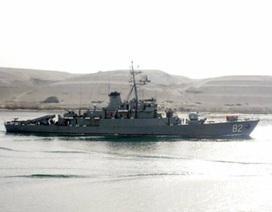 Hải quân Iran điều tàu chiến tới Sudan