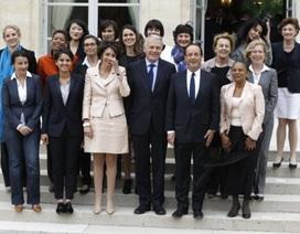 Thủ tướng Pháp lệnh các bộ trưởng đi học về bình đẳng giới
