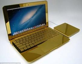 Máy tính Apple dát vàng và kim cương giá hơn nửa tỷ đồng