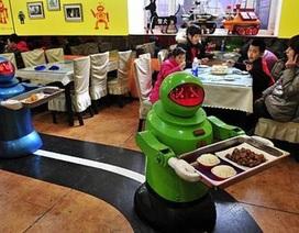 Trung Quốc: Độc đáo nhà hàng do... robot phục vụ