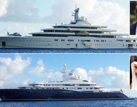 """Siêu du thuyền của tỷ phú Abramovich và Thủ tướng Qatar """"đọ dáng"""""""