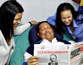 Venezuela lần đầu công bố ảnh Tổng thống Chavez sau phẫu thuật