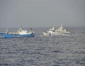 Nhật lại bắt tàu cá Trung Quốc đánh bắt trái phép
