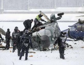 Đức: 2 trực thăng cảnh sát lao vào nhau giữa thủ đô Berlin