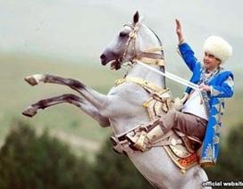 Tổng thống Turkmenistan thắng hơn 200 tỷ đồng từ đua ngựa