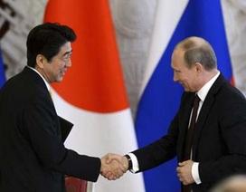 Nga - Nhật cam kết giải quyết tranh chấp biển đảo