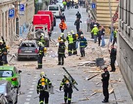 Nổ lớn giữa thủ đô CH Séc, 40 người bị thương
