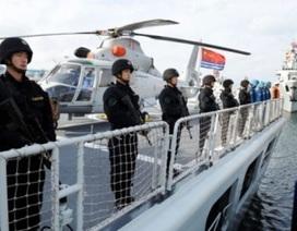 Hải quân Trung Quốc lại diễu võ giương oai trên biển Đông