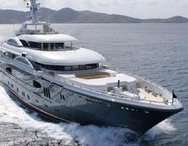Vẻ lộng lẫy khó cưỡng của siêu du thuyền 2200 tỷ đồng