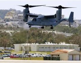 Mỹ tăng gấp đôi số phi cơ vận tải Osprey trên đảo Okinawa