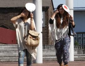 12 người Nhật chết vì nắng nóng gay gắt