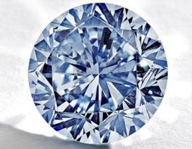 Ngắm viên kim cương xanh siêu hiếm được chào với giá 19 triệu USD