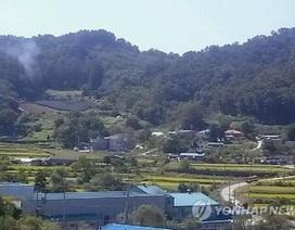 Chiến đấu cơ Hàn Quốc lao vào núi nổ tung