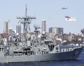 Tàu chiến từ 17 nước tụ hội về cảng Sydney