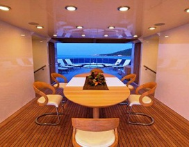 Chiêm ngưỡng siêu du thuyền Omega có giá cho thuê 15 tỷ đồng/tuần