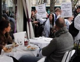Pháp đánh thuế thu nhập 75% đối với giới triệu phú