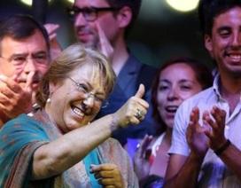 Bà Michelle Bachelet tái đắc cử Tổng thống Chile